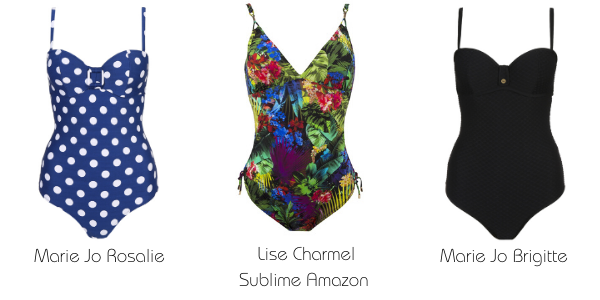 Cup sized Underwire swimsuits
